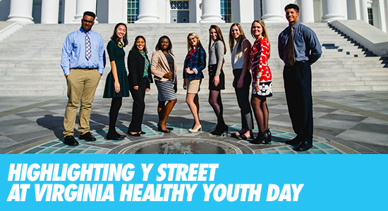 Highlighting Y Street at Virginia Healthy Youth Day