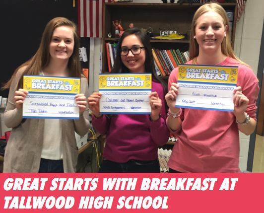 Great Starts with Breakfast School-Based Events